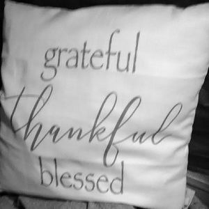 Grateful thankful blessed pillowtalk pillows